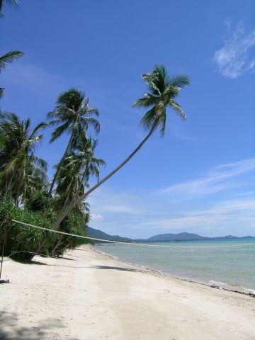 บรรยากาศและหาดทรายบน เกาะสมุย