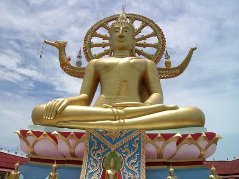 พระพุทธโคดม วัดพระใหญ่